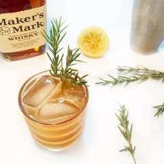 Maple Rosemary Whiskey Sour