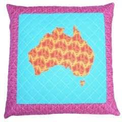 Map Of Australia Cushion Tutorial