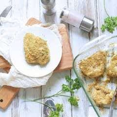 Breadcrumb Baked Chicken