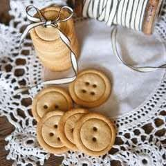 Salted Maple Button Biscuits