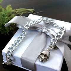 Alexander Mc Queen Inspired Skull Bracelet