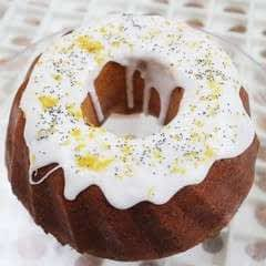 Lemon Gin Bundt Cake