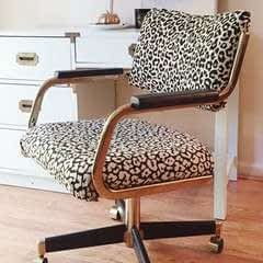 How To Reupholster A Cantilever Chair