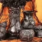 Spider Web Vases
