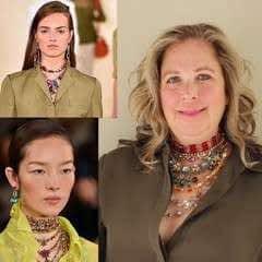 Ralph Lauren Spring 2015 Runway Jewelry Looks DIY