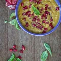 Butternut Squash   Pomegranate Hummus