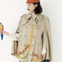 Trench Coat Poncho