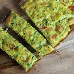 Zucchini And Tomato Quiche