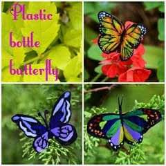 Plastic Bottle Butterfly