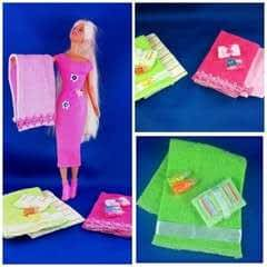Designer Barbie Towel Collection