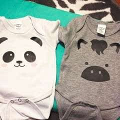 DIY Adorable Animal Onesies