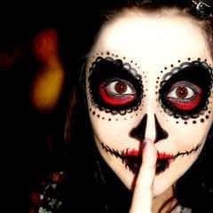 Easy Sugar Skull Makeup Tutorial For #Halloween2015
