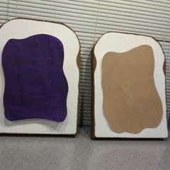 Peanut Butter & Jelly Costume