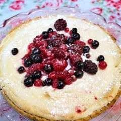 French Martini Cheesecake