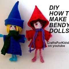 How To Make Bendy Dolls
