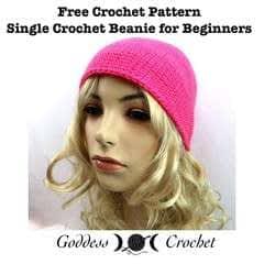 Single Crochet Beanie For Beginners