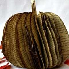 Fall Book Pumpkin