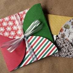Scrapbook Paper Gift Envelopes