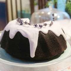 Chocolate & Lavender Bundt Cake