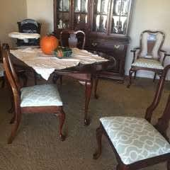 Recover Drab Dinning Chairs