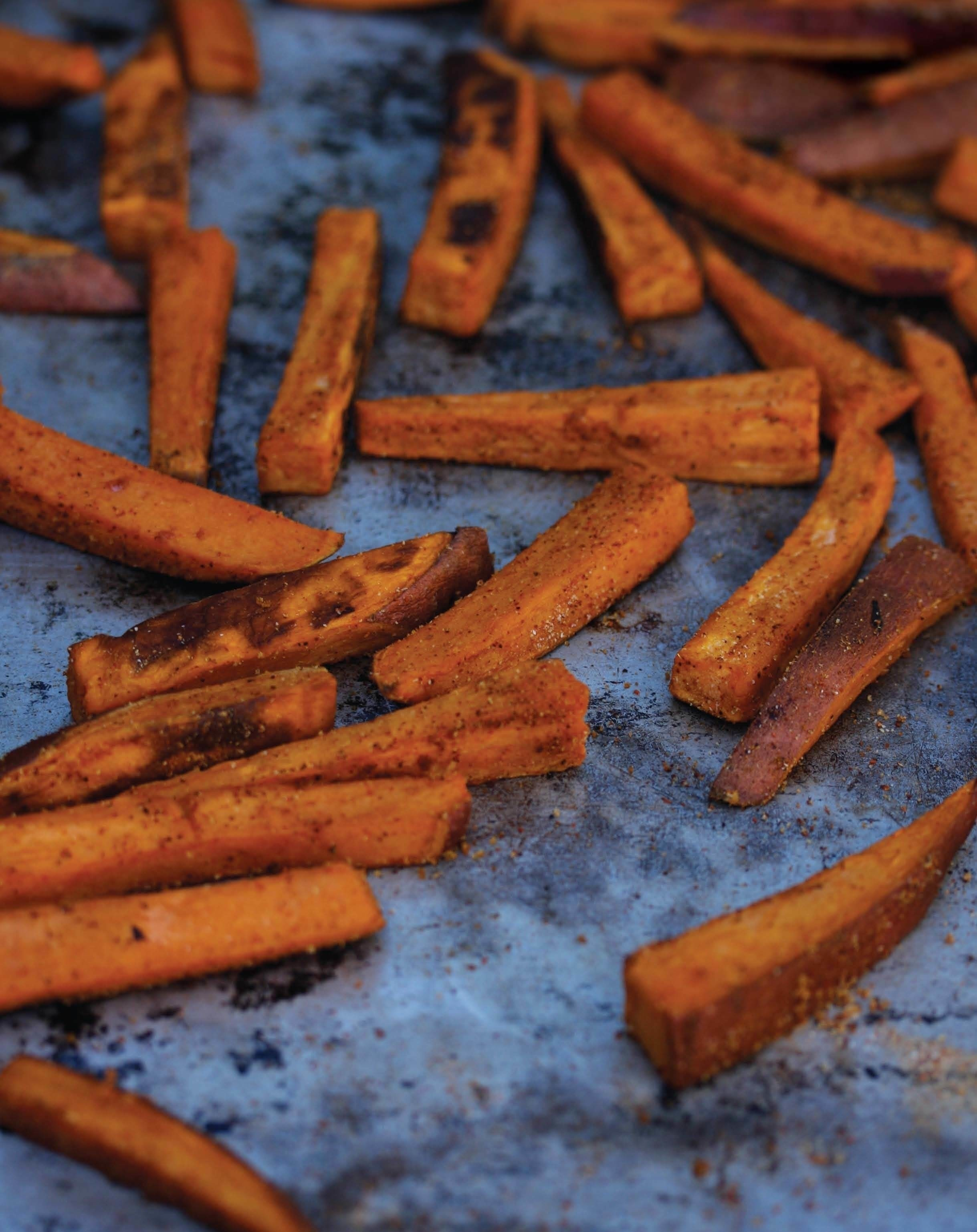 Bbq Sweet Potato Fries · Extract from Superfood Kitchen by Julie ...