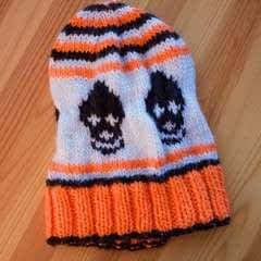 """Skull Cap"" Knit Hat"