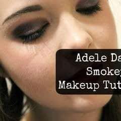 Adele Dark Smokey Makeup Look