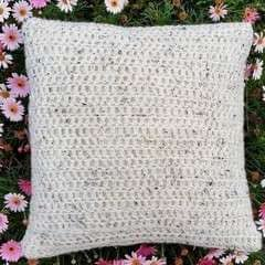 Chunky Crochet Cushion Cover