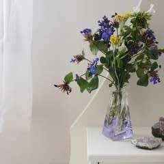 Perfume Bottle As Flowers Vase (Diy)
