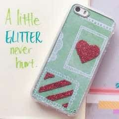 Sparkle Up Your Phone Case With A Little Glitter