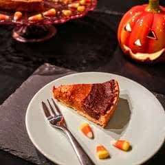 Candy Corn Pumpkin Pie