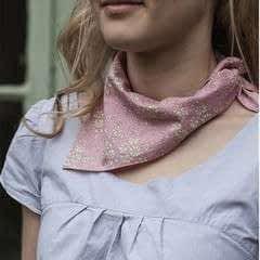 The Versatile Silk Neckerchief Scarf Tutorial