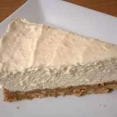 Ginger & White Chocolate Cheesecake
