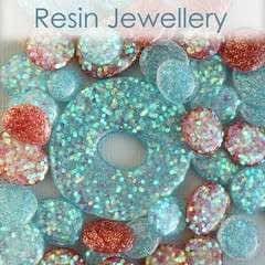 Freeform Resin Beads And Pendants