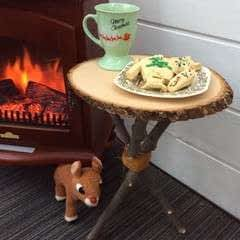 Milk And Cookies For Santa Table