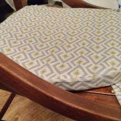 Rocking Chair Cushion Cover