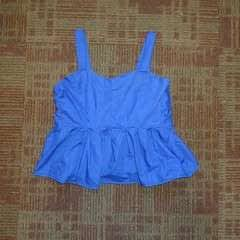 Blue Dress To Short Top
