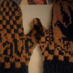 Ravenclaw Mittens