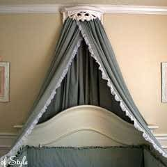 Bed Crown & Canopy Tutorial