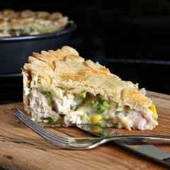 Chicken & Tarragon Pie (Gluten Free)