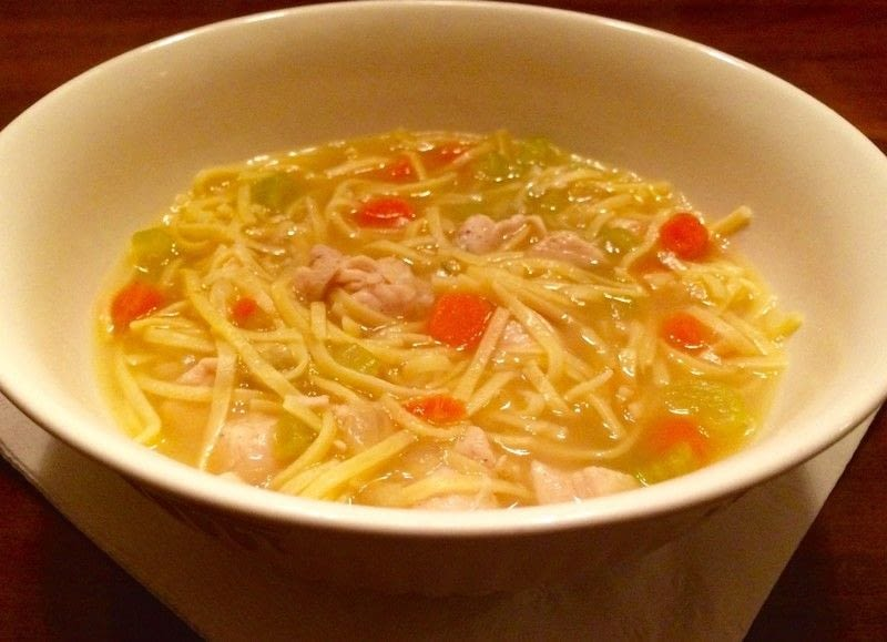 Amish style chicken and noodles how to cook a noodle for How to cook chicken for chicken noodle soup