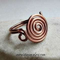 How To Make A Spiral Wire Ring