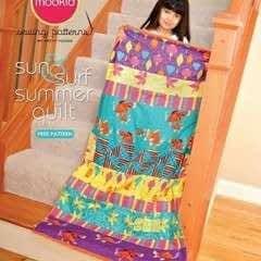 Summer Strip Quilt By Modkid