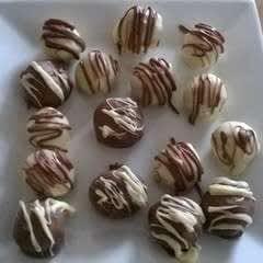Cookie Dough Chocolate Balls