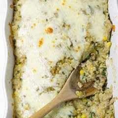Quinoa Turkey Enchilada Bake