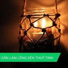 Instruction For Making Glass Lanterns