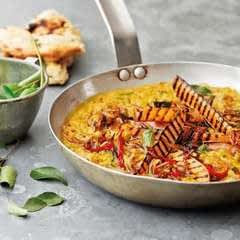 Dhal With Griddled Sweet Potato