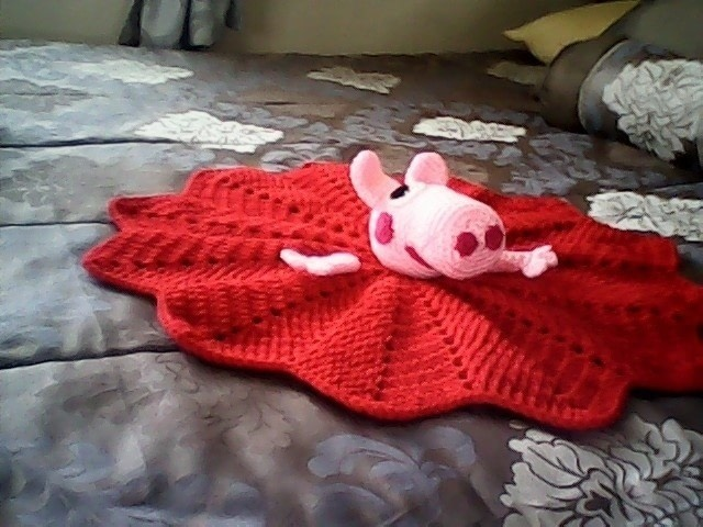Peppa Pig Security Blanket 183 A Baby Blanket Comforter