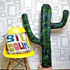 Giant Paper Mache Cactus
