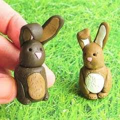 Fimo Chocolate Easter Bunnies!